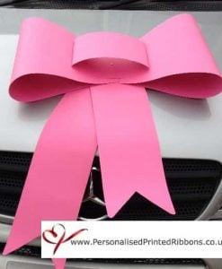 Big Bubble Gum Pink Bow
