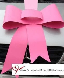 Big Bubblegum Pink Bow & Ribbon Package