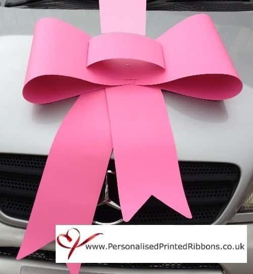 Big Bubblegum Pink Bow & Ribbon Package