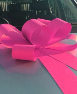 Bright Pink Bonnet Bow