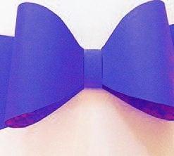 Royal Blue Bow