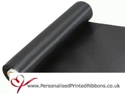 Black Wide Ribbons