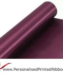 Claret Wide ribbons