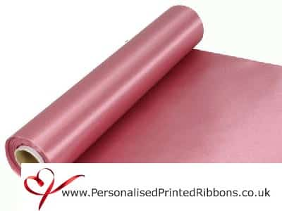 Dusky Pink Wide Ribbons