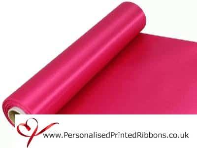 Fuchsia Wide Ribbons