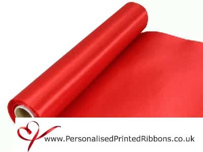 Red Extra Wide Ribbon