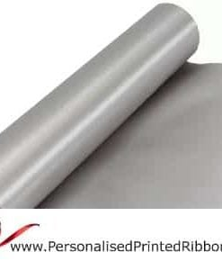 Silver Wide Ribbons