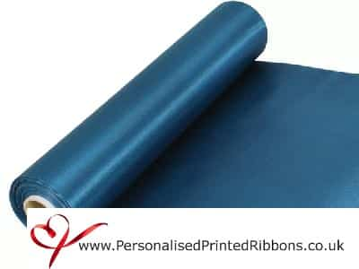 Teal Wide Ribbons