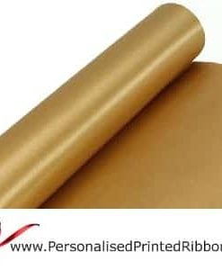 Gold Wide Ribbons