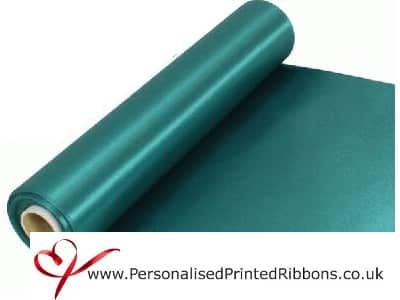 Emerald Green Wide Ribbons