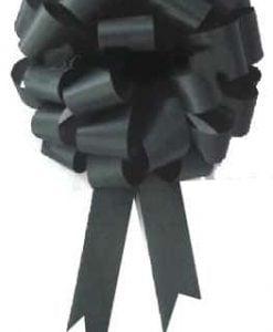 Black Car Bows Pom Pom Style