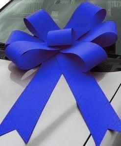 royal blue bonnet bow