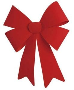Big Red Flock Bow