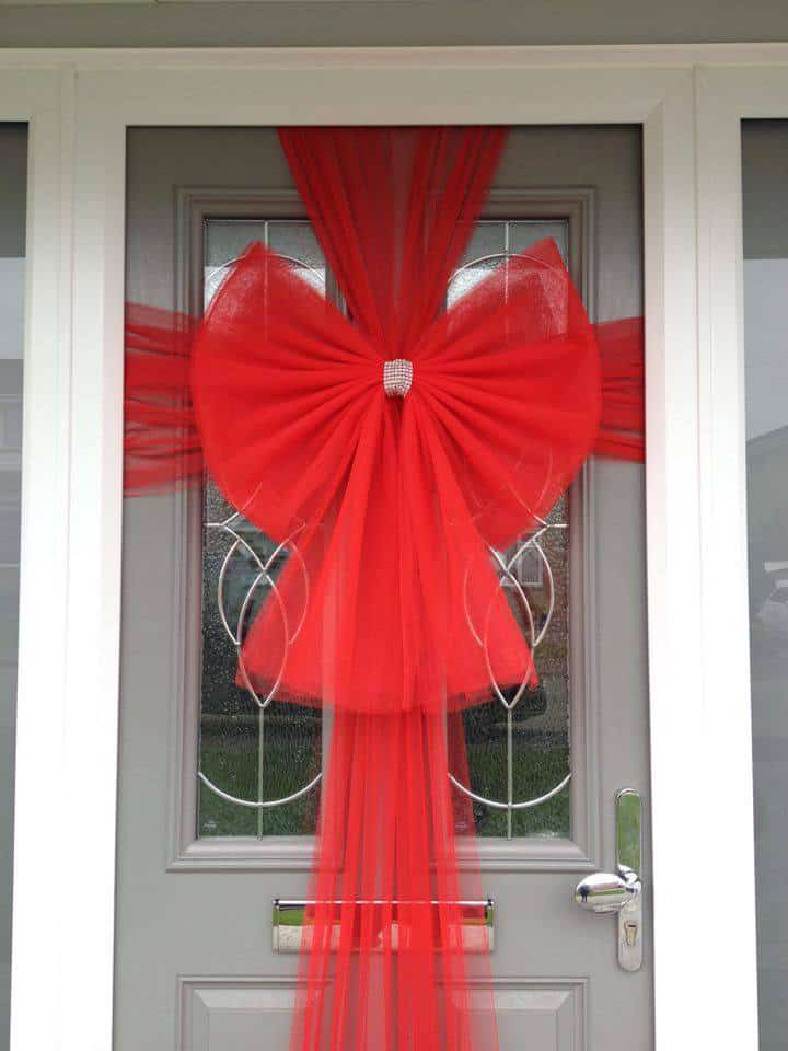 Buy Red Door Bow Next Day Delivery Order Now
