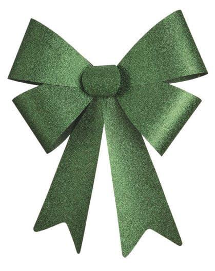 Big Green Glitter Bow